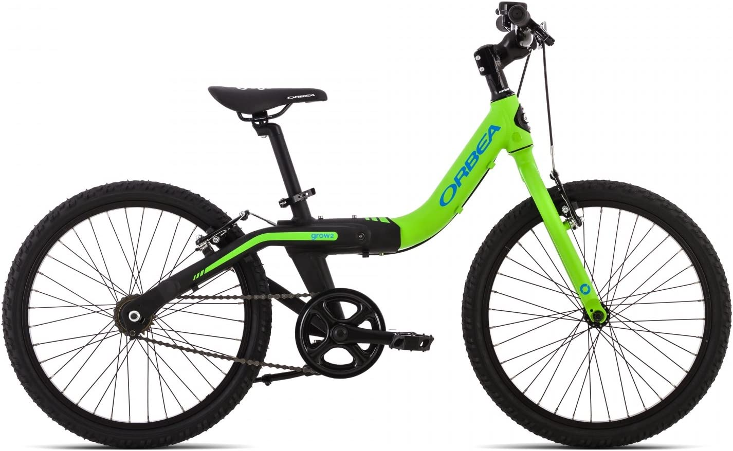 ORBEA Bicicleta Infantil Grow 2, 1 velocidad, verde: Amazon.es ...