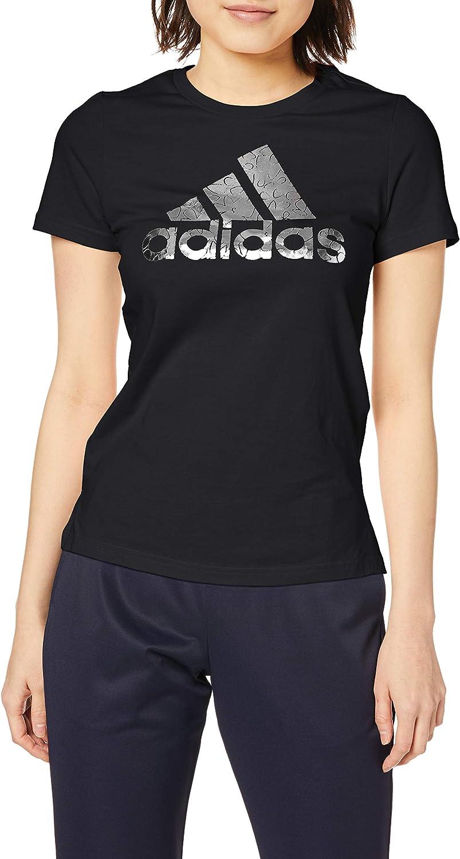 [アディダス] 半袖Tシャツ グラフィック フォイル バッジ オブ スポーツ 半袖 Tシャツ