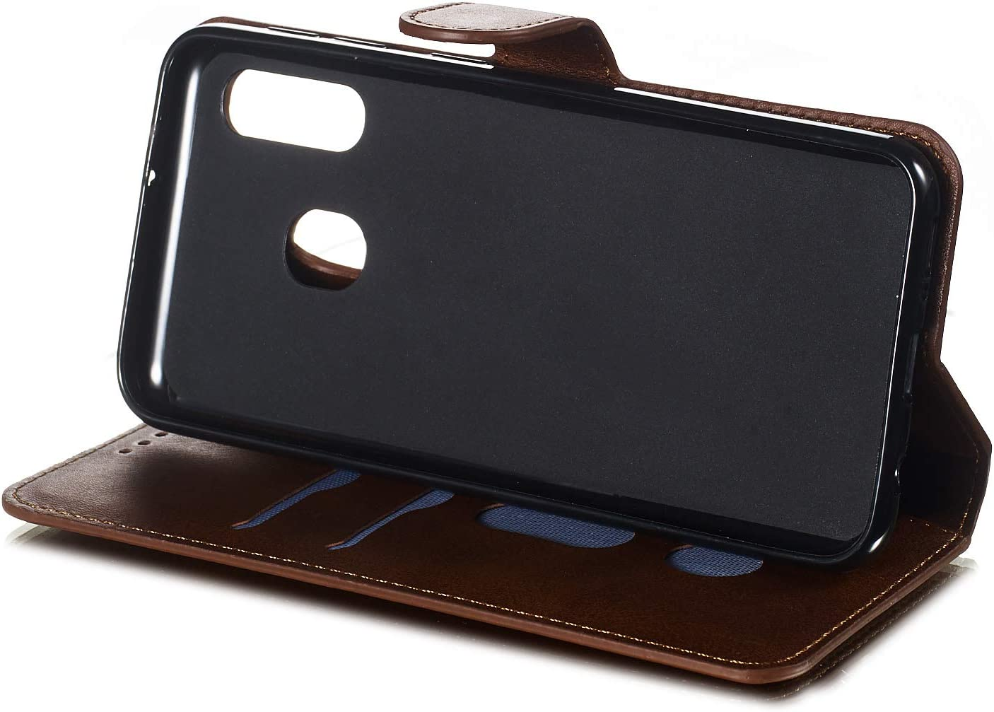 H/ülle Leder Case mit Standfunktion Magnetverschluss Flipcase Klapph/ülle kompatibel mit Samsung Galaxy A20e//A10e A10e Handyh/ülle DOYYO080109 Rot Docrax Galaxy A20e