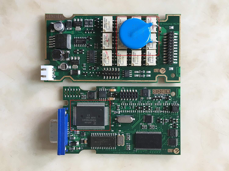 with New Diag PP2000 English Version Original program simple version car diagnosis detector DingSheng PP 2000 Lexia 3 V48 PP2000 V25 Lexia 3 For Citroen Peugeot