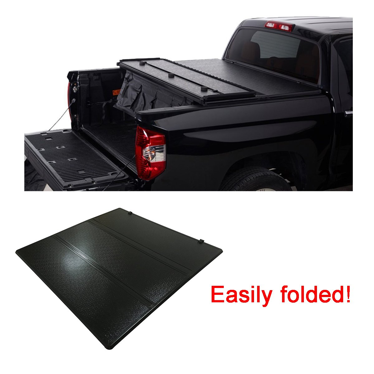 Fuyu Hard Solid Tonneau Cover For Ford F 150 2004 2018 With 5 5ft 66in Bed Not Fit Raptor Series Amazon In Car Motorbike