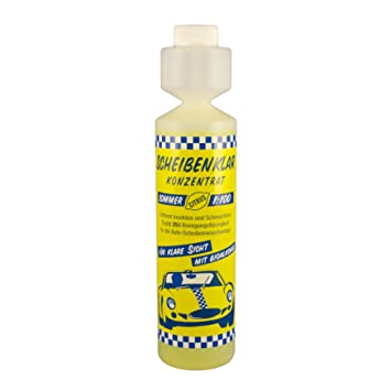Fischar líquido limpiaparabrisas para coches concentrado lavaparabrisas 1:100 citrus 250 ml