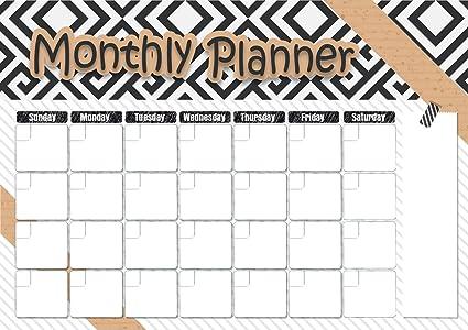 Diario, semanal y mensual calendario magnético para frigorífico ...