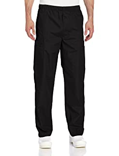 2a134863beb Amazon.com: Landau Unisex Reversible Drawstring Scrub Pants: Medical ...