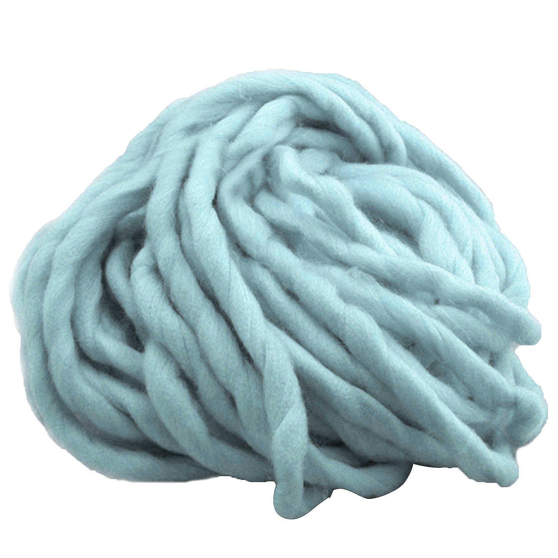 1 filo di spessore, in morbido cotone superfine filato lavorato a mano all'uncinetto, per realizzare un filato di cotone Gosear