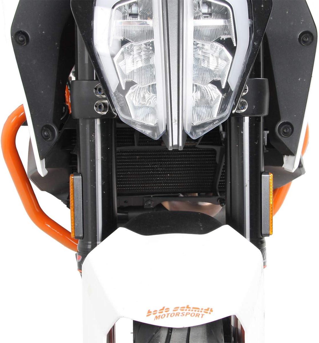 Hepco Becker Motorschutzbügel Orange Für Ktm 390 Duke 2013 2016 Auto