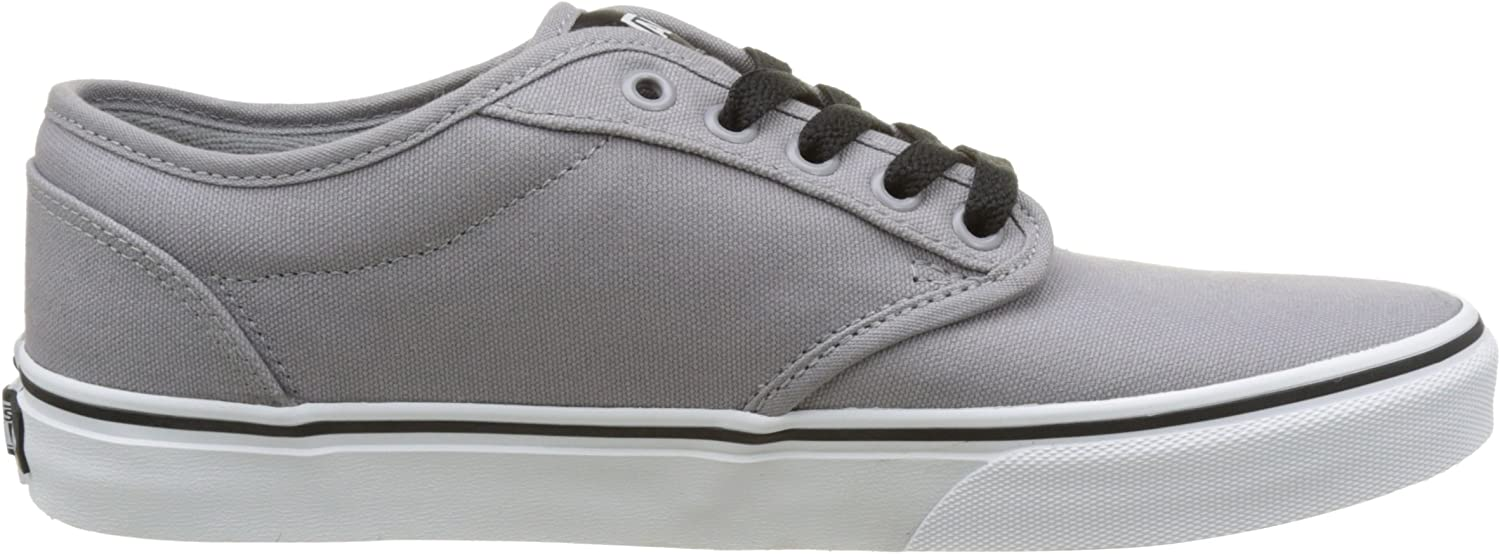 Vans MN Atwood, Sneakers Basses Homme Gris Canvas Frost Gray White