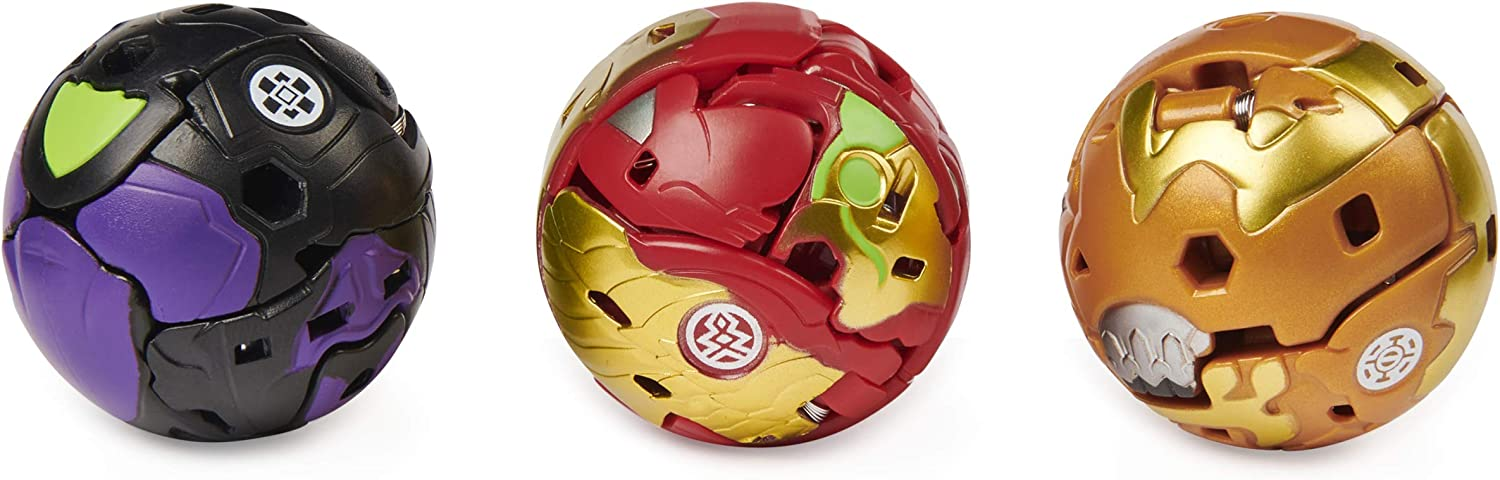 Armored Alliance Collectible Action Figures Bakugan Starter Pack 3-Pack Fused Hydorous x Thryno Ultra