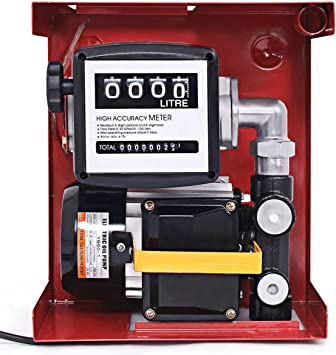 60L Mophorn Electric Fuel Self-Priming Transfer Pump 550W Diesel Transfer Pump 60L//Min Fuel Pump Dispensing Kit Bio Oil Diesel Kerosene 220V