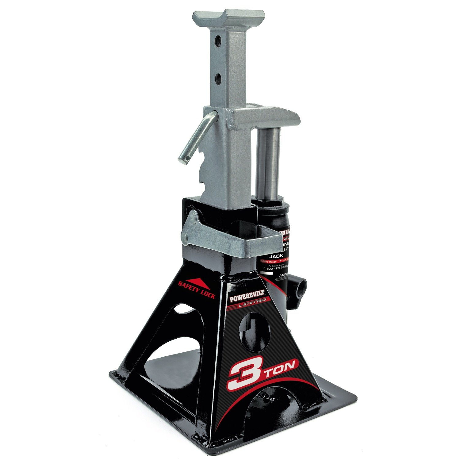 Powerbuilt 640912 All-In-One 3-Ton Bottle Jack with Jack Stand by Alltrade (Image #2)