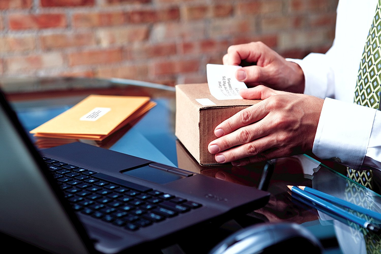 Dymo LabelWriter - Rollos de etiquetas 2 + 1, impresión negra sobre fondo blanco, 54 × 101 mm: Amazon.es: Oficina y papelería