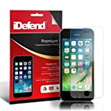 iDefend Apple iPhone 5 / 5S / 5C / SE Ultra Thin Transparent Premium Tempered Glass Screen Protector Film [FREE 2 Year Warranty]