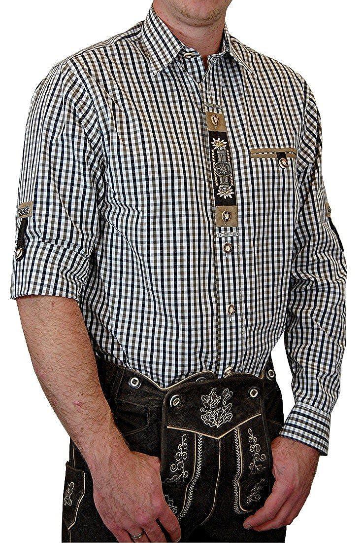 Hochwertiges OS Trachtenhemd Harry in verschiedenen Ausfü hrungen