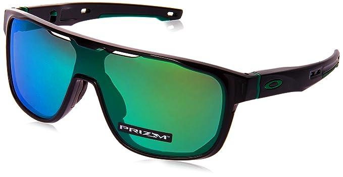 Oakley Crossrange Shield 938703, Gafas de sol para Hombre, Negro 1: Amazon.es: Ropa y accesorios