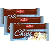 Dee Best Vegan White Chocolate Chips | Great for Baking | Non-dairy | 9oz (Pack of 3) Kosher