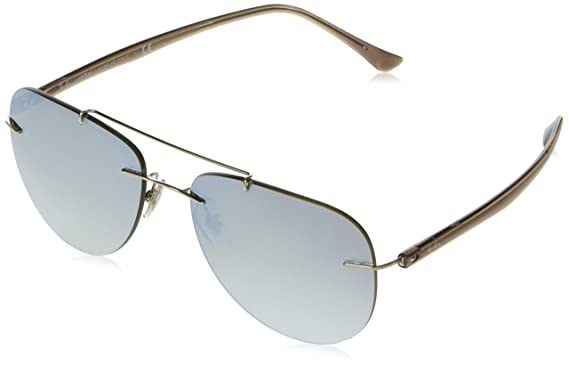 Amazon.com: Ray-Ban Titanio Hombre non-polarized Iridium ...