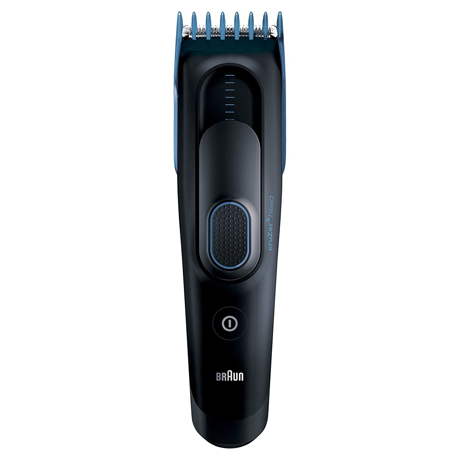 Braun Cruzer 5 Electric Shaver Styler Trimmer, 3-in-1 Ultimate Hair Clipper, Wet Dry, 8 Settings for Perfect Style in All Lengths, Fully Washable
