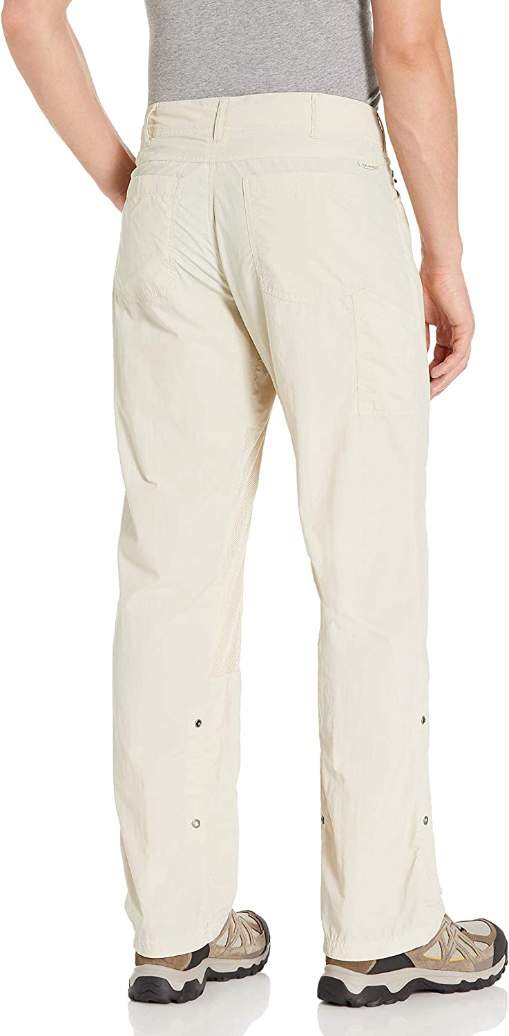 Mosquito Repellent Permethrin Clothing ExOfficio Mens BugsAway Sandfly Lightweight Pants-Insect Tick