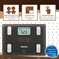 Omron HBF 212 Digital Full Body Composition Monitor With 4 User & Guest Mode Feature to Monitor BMI, Body Age, Vesceral Fat Level, Body Fat & Skeletal Muscle Percentage