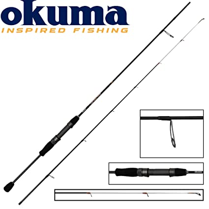 Okuma CAÑA Spinning Light Range Fishing - 80, 185, 2, 97, 1 to 7g ...