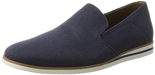 ALDO PIANCADA, Mocasines para Hombre, Azul (2 Navy), 46 EU: Amazon.es: Zapatos y complementos