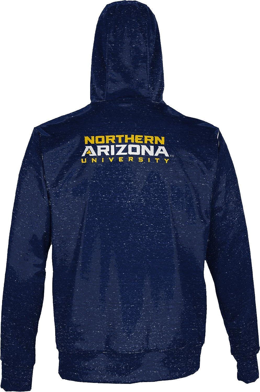 Heathered ProSphere Northern Arizona University Mens Fullzip Hoodie