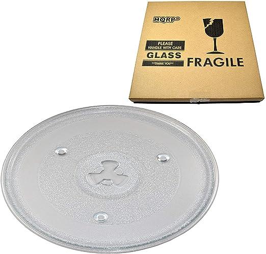 Amazon.com: HQRP 10 – 1/2 inch bandeja de vidrio giratoria ...