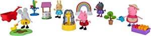 Peppa Pig Gardening Deluxe Playtime Set, Featuring Peppa Pig Characters, a Surprise Friend Figure, and Garden Accessories from The World of Peppa Pig – Toys for Kids