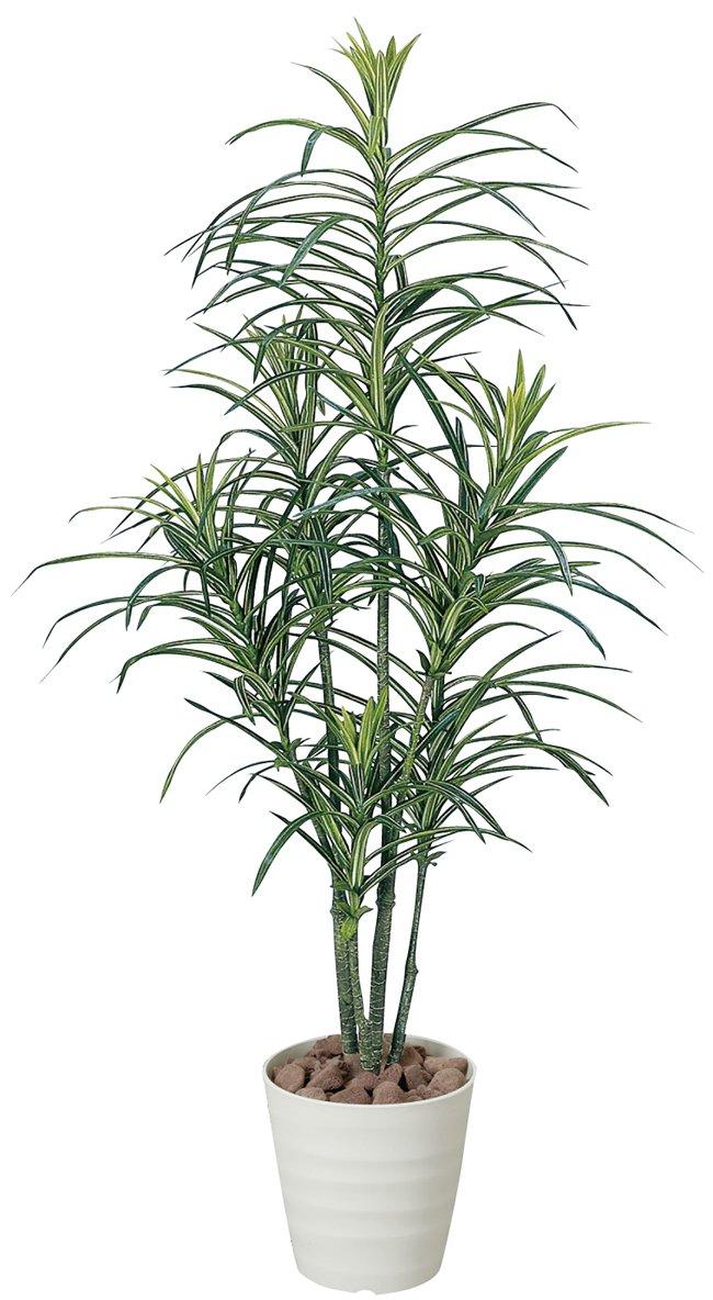 光触媒 人工観葉植物 光の楽園 ドラセナコンシンネ 1.3m 368B180 B01IGBXLQE  幅60×奥行60
