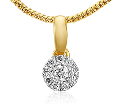 Buy senco gold 14kt yellow gold and diamond pendant for women senco gold 14kt yellow gold and diamond pendant for women mozeypictures Image collections