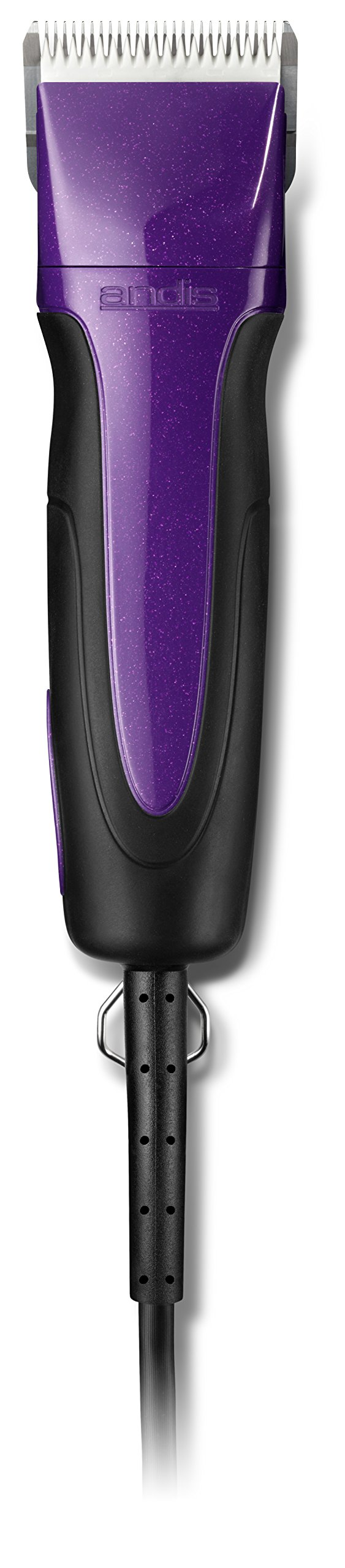 Andis Excel Pro-Animal 5-Speed Detachable Blade Clipper Kit - Professional  Animal/Dog Grooming, Plum Purple, SMC (65255)