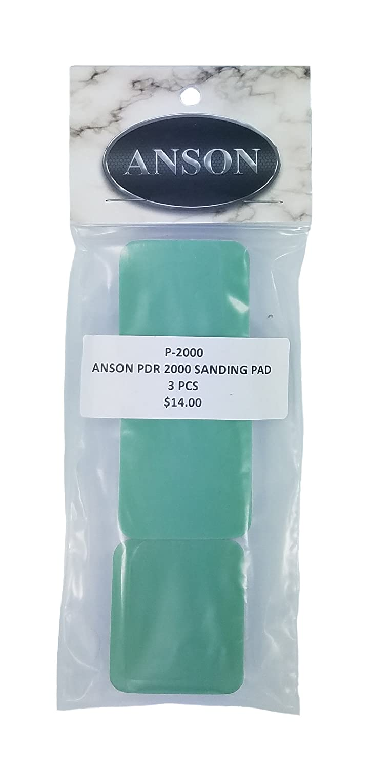 Anson Sanding Blocks 2000 used wet or dry for auto paint correction FIne