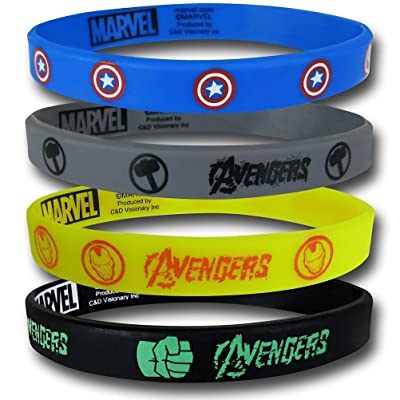 Avengers Assemble Wristband Set
