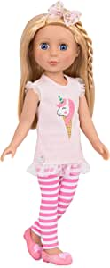 """Glitter Girls Doll by Battat - Lacy 14"""" Poseable Fashion Doll - Dolls for Girls Age 3 and Up"""