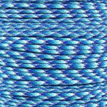 Paracord Planet 10', 25', 50', 100' Hanks & 250', 1000' Spools of Parachute 550 Cord Type III 7 Strand Paracord New Colors