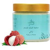 Bayt Al Saboun Al Loubnani Lychee Body Sugar Scrub, 500 Gm