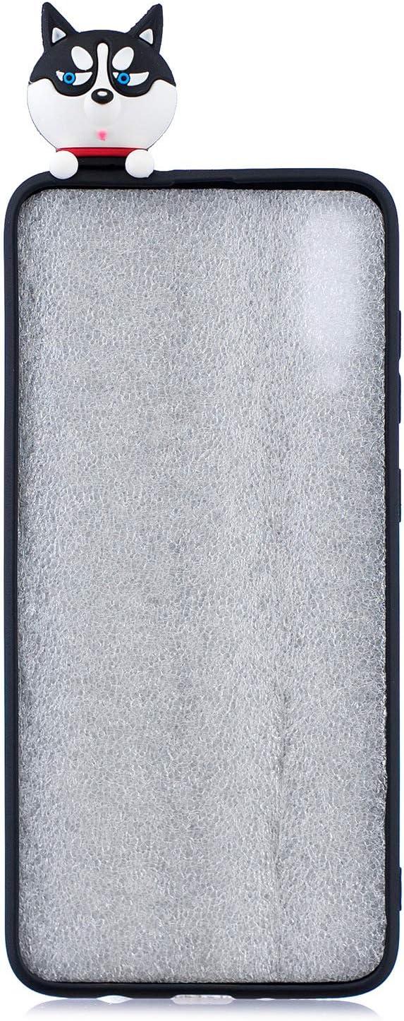 ChoosEU kompatibel mit Huawei Y6P 2020 H/ülle Silikon Muster Einhorn 3D Handyh/ülle Ultra D/ünn Bumper Sto/ßfest Slim Case Schutzh/ülle Soft Design B/är
