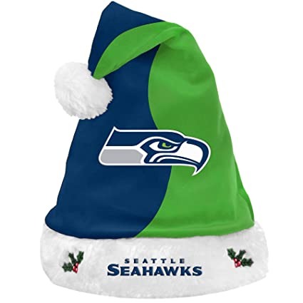 9d60cd48 Forever Collectibles NFL Santa Hat, Seattle Seahawks