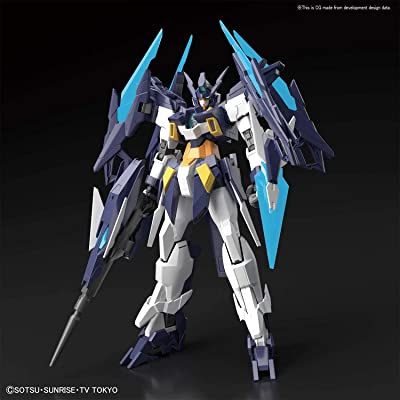 Bandai Hobby MG Gundam Age-II Magnum Gundam Build Divers Model Kit: Toys & Games [5Bkhe0506821]
