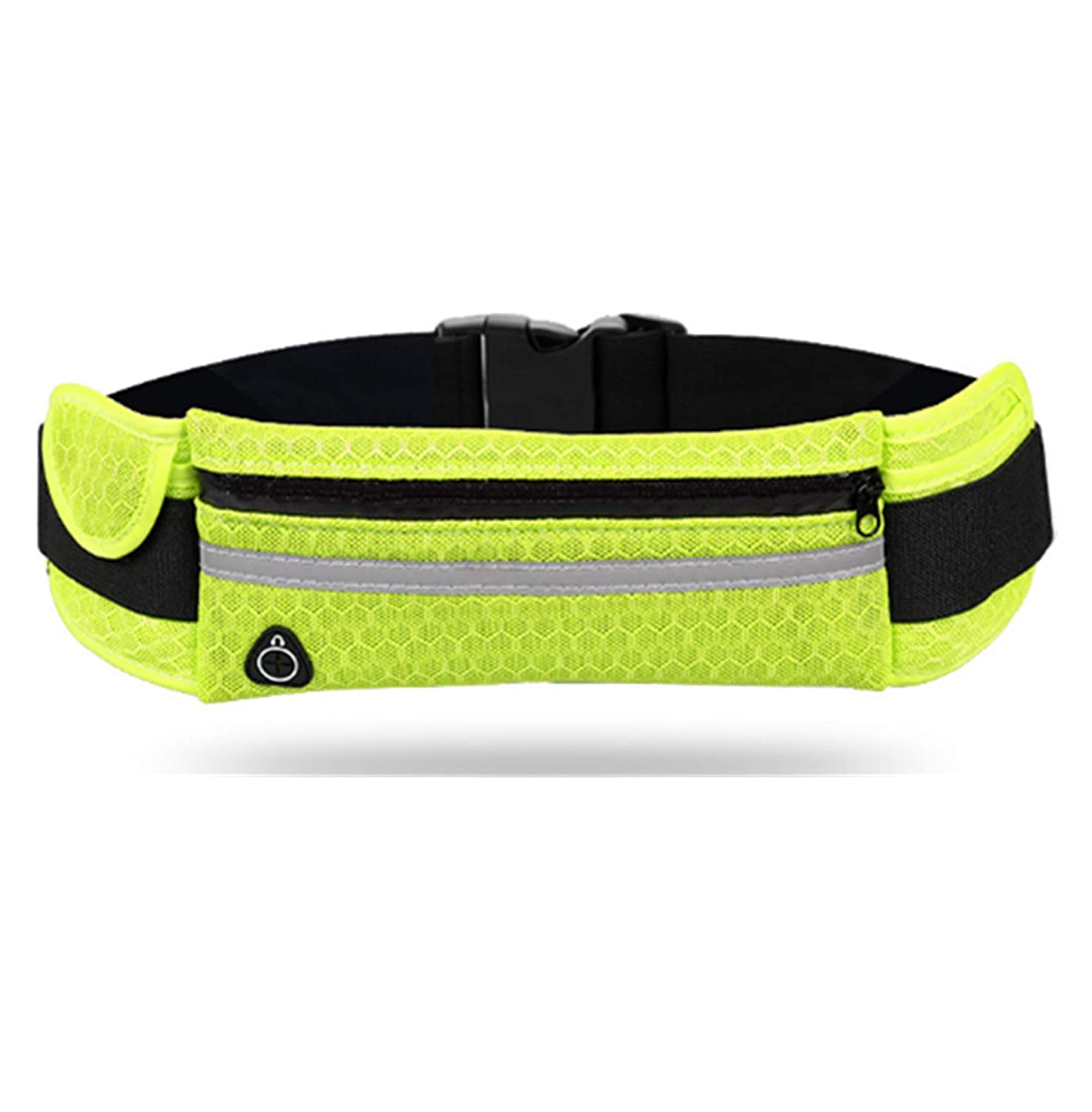 primerry Breathable Style Exercise Outdoors Large Capacity Pocket Waist Bag Blue