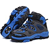 Kids Climbing Boots Hiking Shoes Anti-slip Winter Walking Snow Boots Cotton Shoes Waterfroof Platform