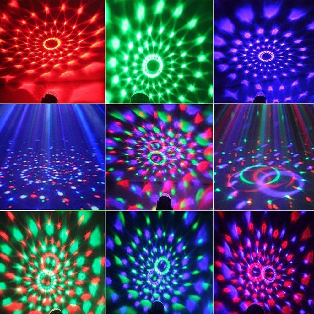 /7 Colors Sound Activated with Party Lights with Remote Control Dj Lighting,for Festival Bar Club Party Wedding Show Home