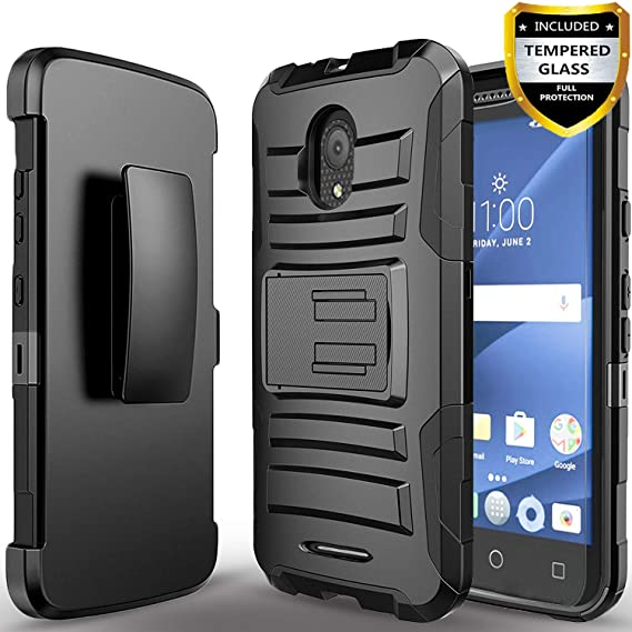 release date: 5f108 63fe3 Alcatel IdealXcite Case, Alcatel Raven LTE Case, Alcatel Verso Case,  Alcatel CameoX Case, Circlemalls [Combo Holster] And Built-In Kickstand  With ...