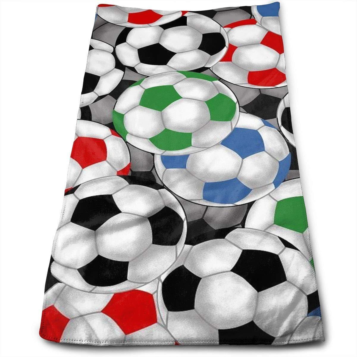 Uosliks Balones de fútbol 100% algodón, Resistente a la ...