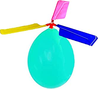 Kids Toy Balloon Helicopter (12 pack)Children's Day Gift Party Favor easter basket, stocking stuffer or birthday! Flying Toys for Boys and Girls - Outdoor Sport Toy for 7 8 9 10 Year Old