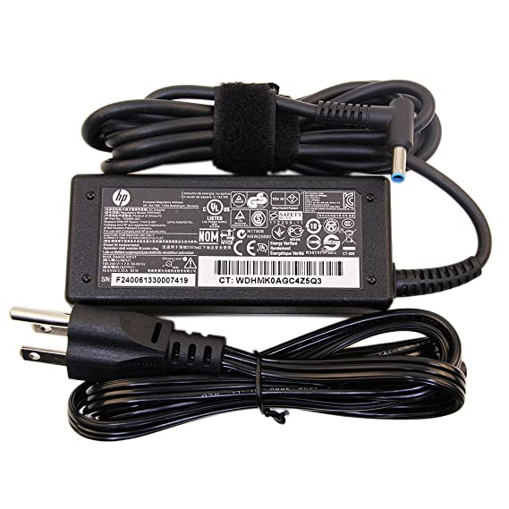 HP Original 65W Charger for ProBook 430 G3, 430 G4, 440 G3, 440 G4, 450 G3, 450 G4, 455 G3, 455 G4, 470 G3, 470 G4 Power-Adapter-Cord (Slim)