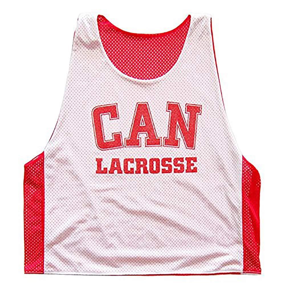 Tribe Head Lacrosse Canada Lacrosee Reversible Reversible Pinnie