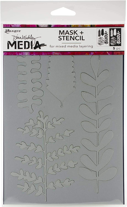 "Dina Wakley Media Stencils 9/""X6/"" Soul Shines 789541069263"