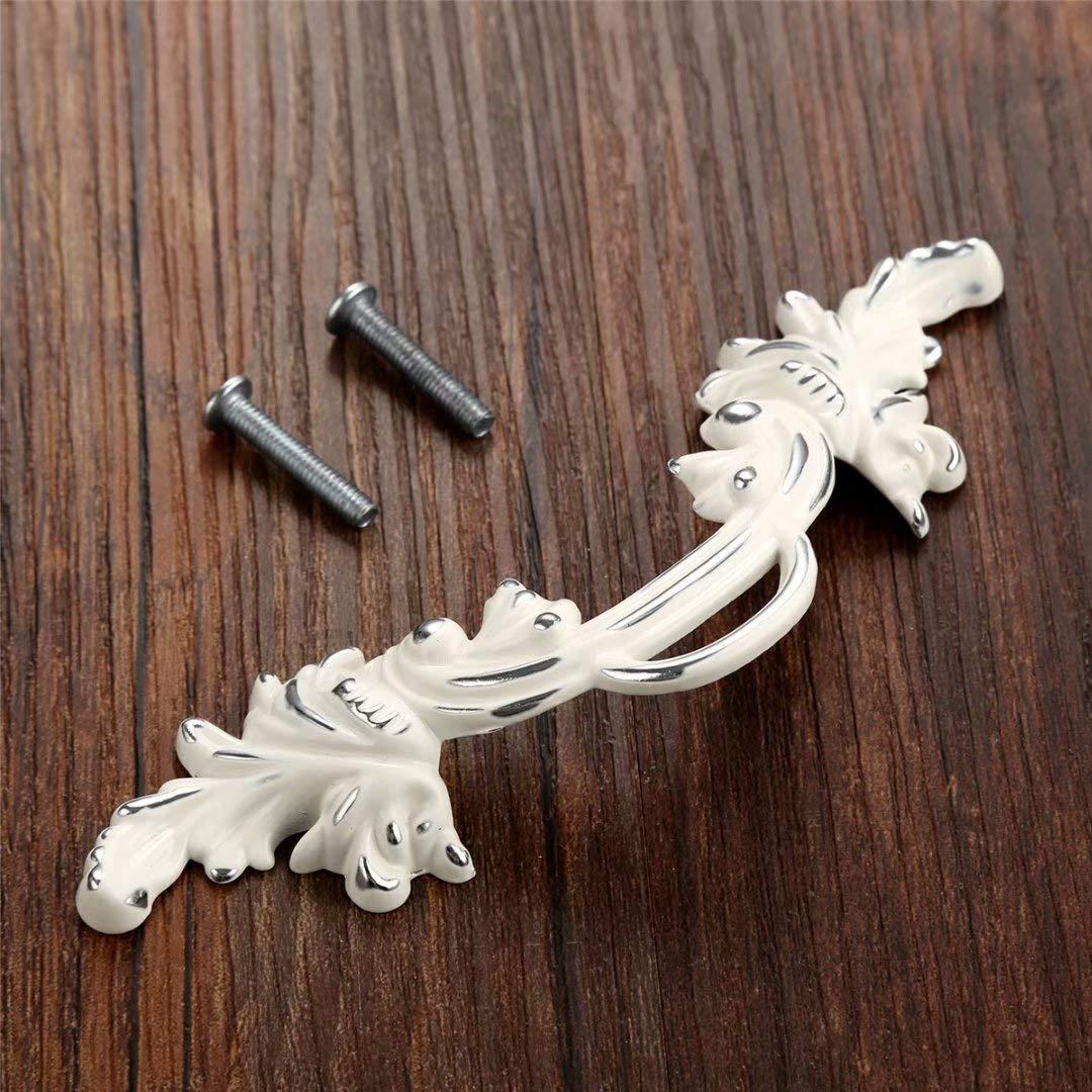 CC: 64 MM 2pcs DIY Vintage Amerikanischen Stil Antike zink-legierung T/ürgriff Schublade Ziehen Griff Schrank Kleiderschrank T/ürknauf TM FBSHOP