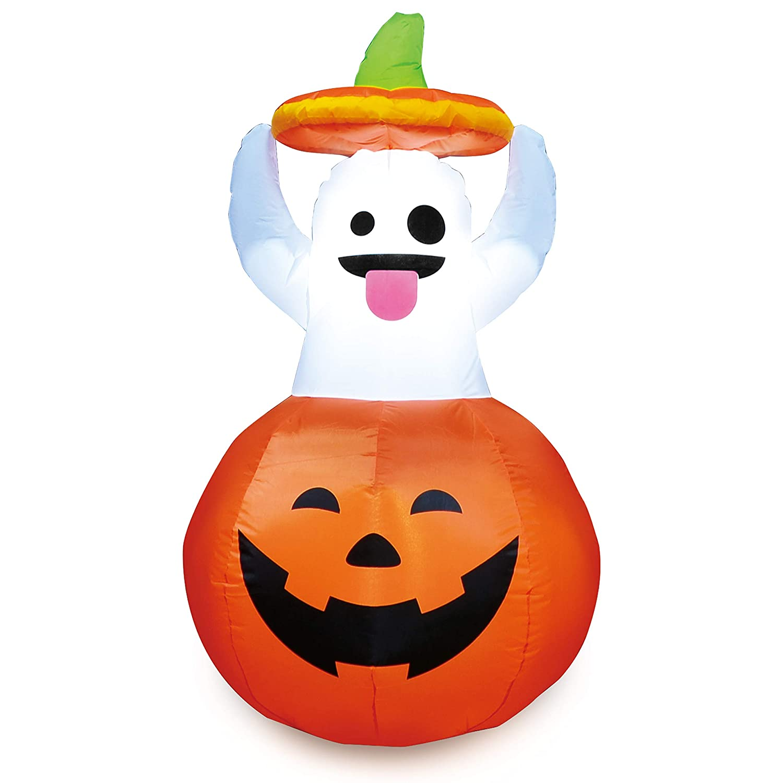Joiedomi Halloween Inflatable Ghost in Pumpkin for Halloween Outdoor Decoration (5 ft Tall) Joyin Inc 30001